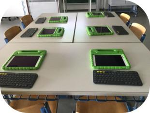 Tastaturkurs mit Tablets